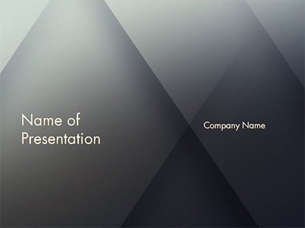 Abstract/Textures: Overlapping Transparent Layers PowerPoint Template #14657