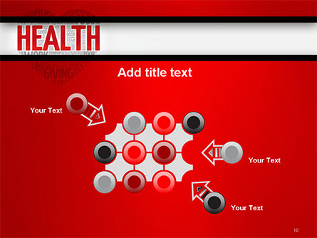 Health Word Cloud PowerPoint Template Slide 10