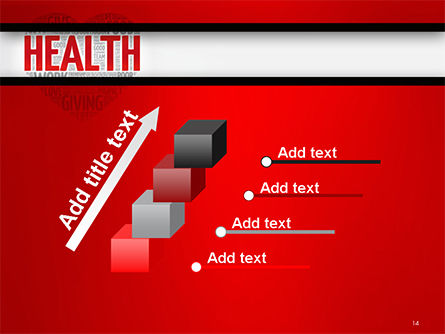 Health Word Cloud PowerPoint Template Slide 14