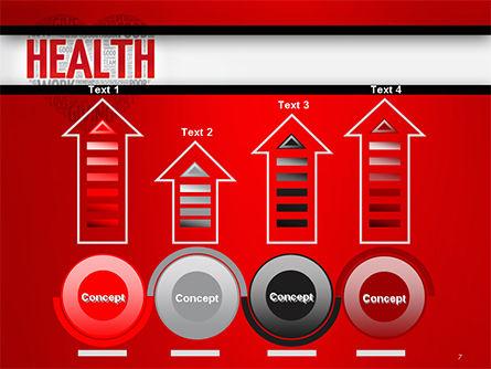 Health Word Cloud PowerPoint Template Slide 7