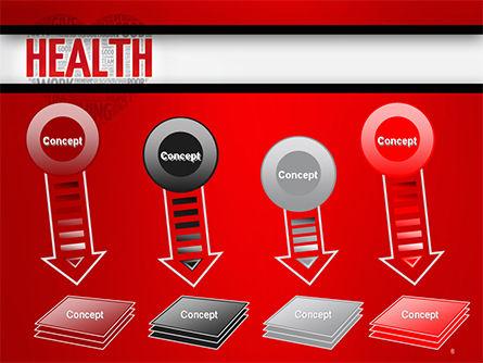 Health Word Cloud PowerPoint Template Slide 8