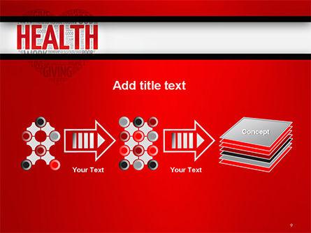 Health Word Cloud PowerPoint Template Slide 9