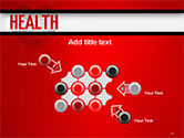 Health Word Cloud PowerPoint Template#10
