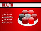 Health Word Cloud PowerPoint Template#12