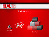 Health Word Cloud PowerPoint Template#13