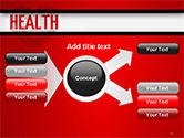 Health Word Cloud PowerPoint Template#15