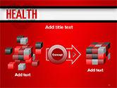 Health Word Cloud PowerPoint Template#17