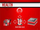 Health Word Cloud PowerPoint Template#19