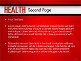 Health Word Cloud PowerPoint Template#2
