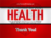 Health Word Cloud PowerPoint Template#20