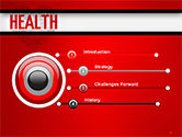 Health Word Cloud PowerPoint Template#3