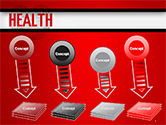 Health Word Cloud PowerPoint Template#8