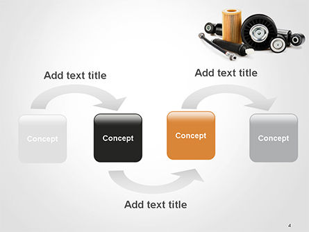 Auto Replacement Parts PowerPoint Template Slide 4