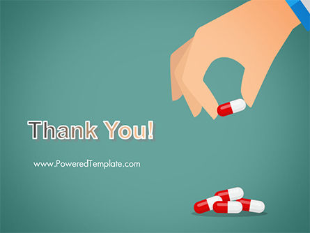 Doctor's Hand and Pills PowerPoint Template Slide 20