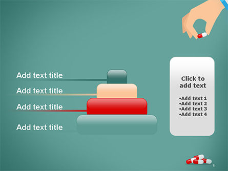 Doctor's Hand and Pills PowerPoint Template Slide 8