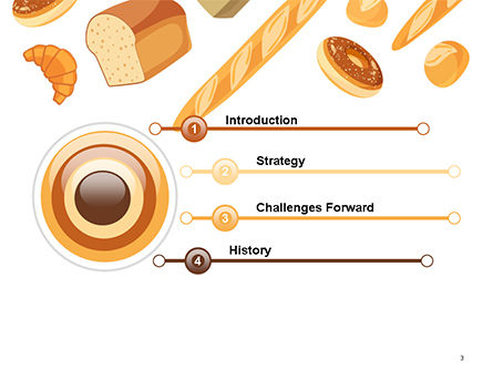 Bread Background PowerPoint Template Slide 3