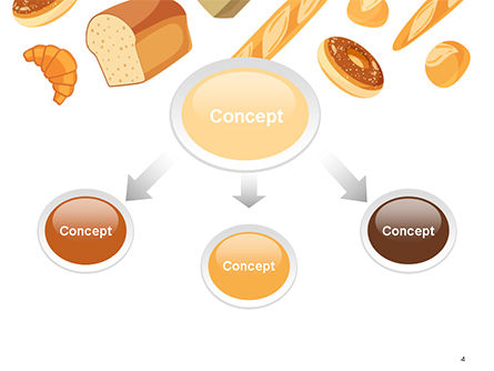 Bread Background PowerPoint Template Slide 4
