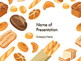 Bread Background PowerPoint Template#1