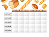 Bread Background PowerPoint Template#15