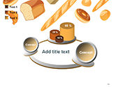 Bread Background PowerPoint Template#16