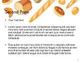 Bread Background PowerPoint Template#2