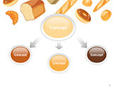 Bread Background PowerPoint Template#4