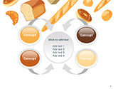 Bread Background PowerPoint Template#6