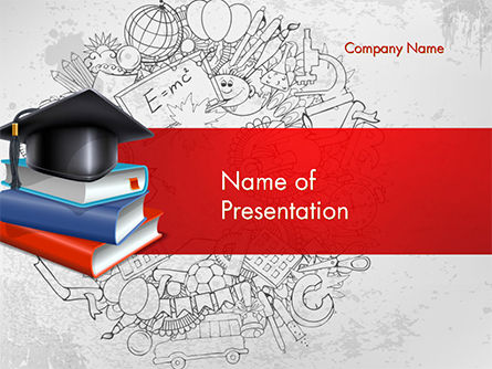 Education Theme PowerPoint Template, 14665, Education & Training — PoweredTemplate.com
