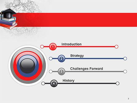 Education Theme PowerPoint Template Slide 3