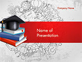 Education & Training: Onderwijs Thema PowerPoint Template #14665