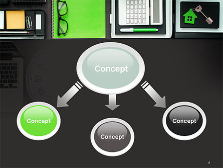 Tidy Business Desktop PowerPoint Template Slide 4