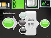Tidy Business Desktop PowerPoint Template#17
