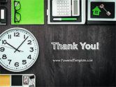 Tidy Business Desktop PowerPoint Template#20