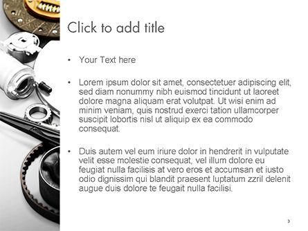 Car Accessories PowerPoint Template, Slide 3, 14673, Cars and Transportation — PoweredTemplate.com
