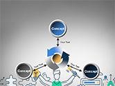 Creative Process Line Design PowerPoint Template#12