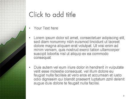 Straight Diagonal Arrow PowerPoint Template, Slide 3, 14679, Business Concepts — PoweredTemplate.com