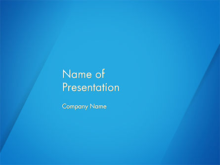 Plain Blue Background Powerpoint Template Backgrounds 14683