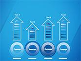 Plain Blue Background PowerPoint Template#7