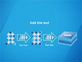 Plain Blue Background PowerPoint Template#9
