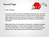 3D Small People Pushing Puzzle PowerPoint Template#2