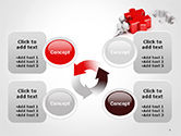 3D Small People Pushing Puzzle PowerPoint Template#9