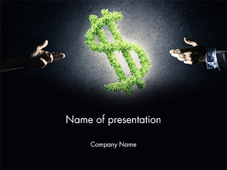 Financial/Accounting: Concept of Investments PowerPoint Template #14685
