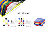 Row of T-shirts in Store PowerPoint Template#9