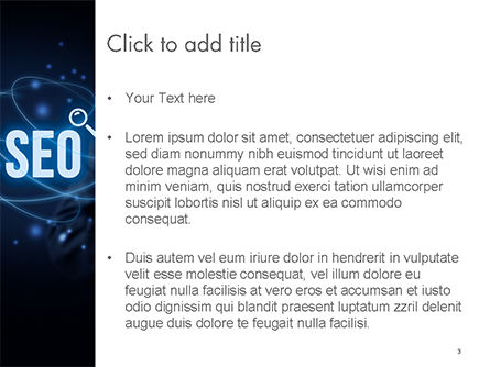 Magic of SEO PowerPoint Template, Slide 3, 14688, Technology and Science — PoweredTemplate.com