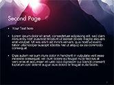 Mountain Peak PowerPoint Template#2