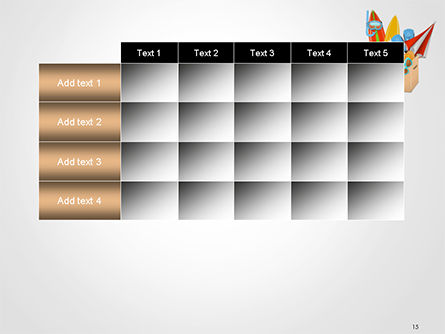 Summer Holidays Concept PowerPoint Template Slide 15