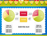 Frame of Colorful Funny Pencils PowerPoint Template#11