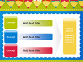 Frame of Colorful Funny Pencils PowerPoint Template#12