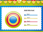 Frame of Colorful Funny Pencils PowerPoint Template#9