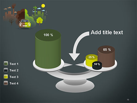 Half Green and Brown Environment PowerPoint Template Slide 10